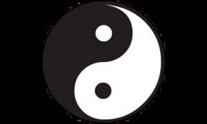 Symbol von Yin und Yang